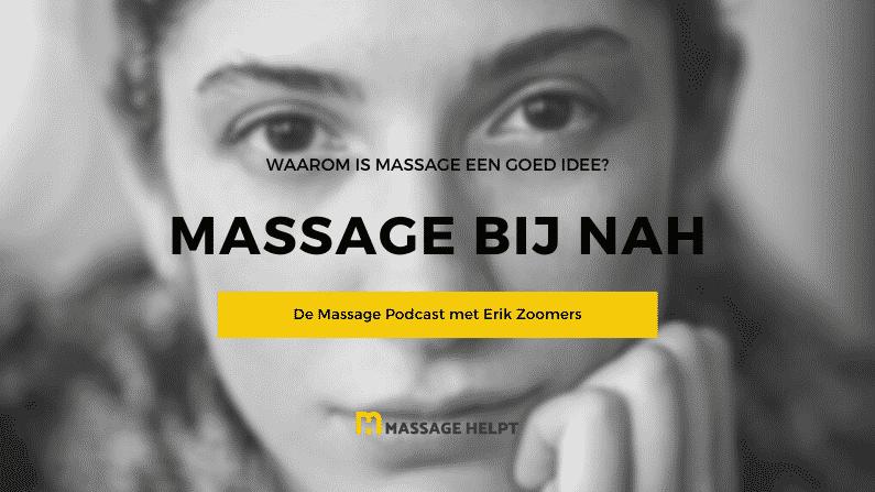 Massage bij niet-aangeboren hersenletsel NAH